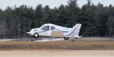 Terrafugia flying car ready for sale by 2011 - video