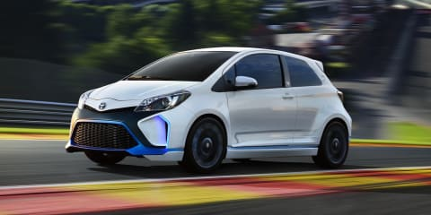 Toyota Yaris Hybrid-R concept: 313kW pocket rocket revealed