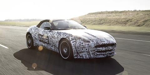 Jaguar F-Type: first images, new name confirmed