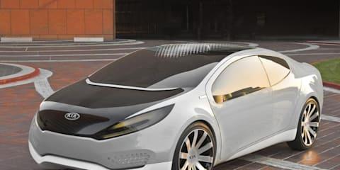 Kia Venga EV Concept, Kia Ray plug-in hybrid at Geneva 2010