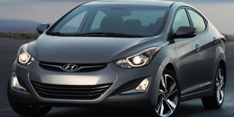 2014 Hyundai Elantra: facelift here January, gets overhauled Australian suspension