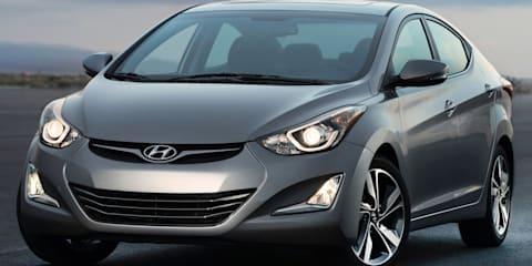 2014 Hyundai Elantra: facelift here January, gets overhauled Australian suspension