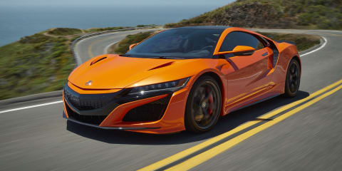 2019 Honda NSX revealed in Monterey, pricing unchanged for Australia