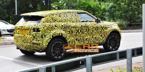 Range Rover LRX spy photos