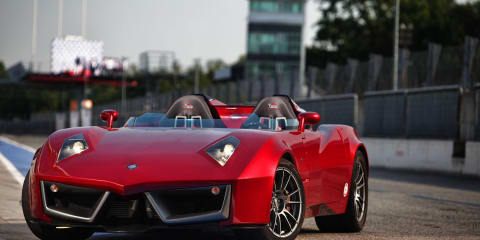 Spada Codatronca Monza unleashed on-track