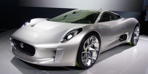 Jaguar C-X75 hybrid supercar on verge of testing phase