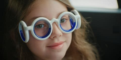 Citroen tackles car sickness with 'Seetroen' glasses