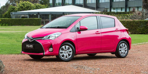 2015 Toyota Yaris pricing and specifications