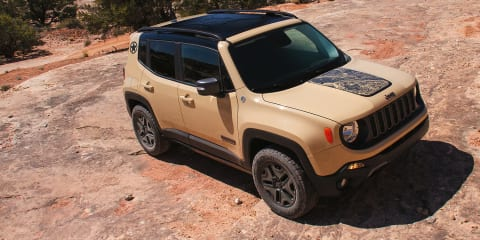 Jeep Renegade Deserthawk, Altitude revealed for LA motor show