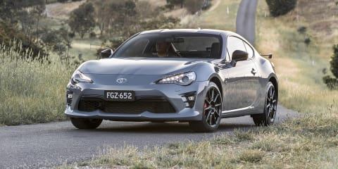2018 Toyota 86 pricing and specs