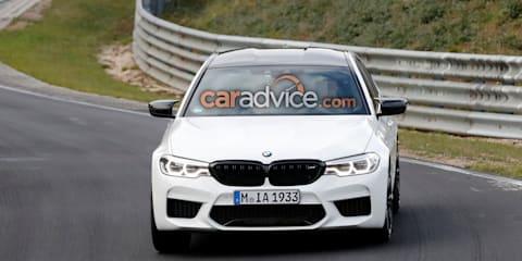 2019 BMW M5 CS spied