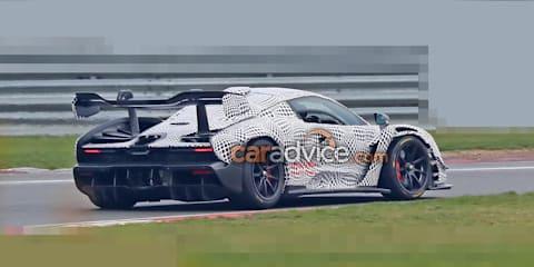 McLaren Senna GTR spied