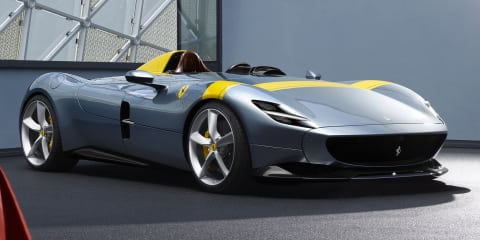 Ferrari Monza SP1 and SP2 unveiled