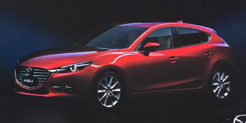 2017 Mazda 3 facelift:: leaked Japanese brochure surfaces online - UPDATED