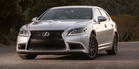 2016 Lexus LS bound for Tokyo show with 398kW V8 hybrid heart - report