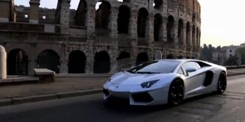 Video: Lamborghini Aventador LP700-4 at Rome launch