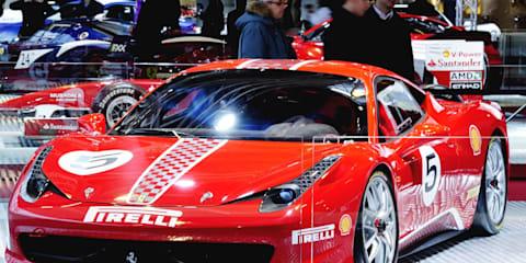 Ferrari 458 Challenge at Bologna Motor Show