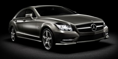 2011 Mercedes-Benz CLS-Class revealed in official images