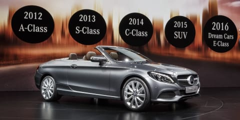 2017 Mercedes-Benz C-Class Cabriolet revealed