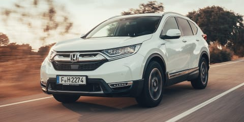 2019 Honda CR-V Hybrid revealed for Europe