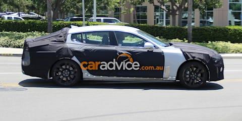 Kia GT Stinger RWD sedan set for 2017, green light for Australia