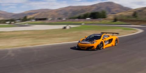 McLaren MP4-12C GT3 helps launch new racetrack