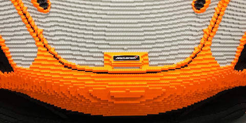 McLaren 720S: 280,000-plus piece 1:1 Lego project for Goodwood showgoers