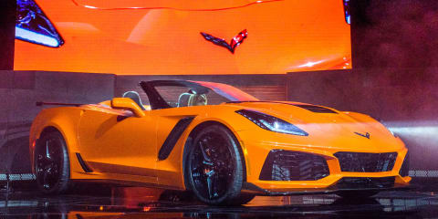 2018 Chevrolet Corvette ZR1 convertible unveiled