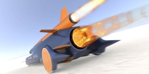 Bloodhound SSC attempts new land speed record