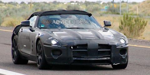 2010 Mercedes-AMG SLS Cabriolet spied