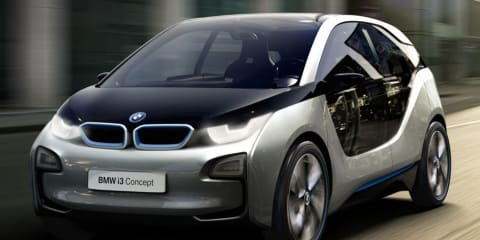 BMW i3 Concept unveiled