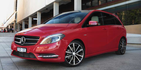 Mercedes-Benz B-Class: race CarAdvice to win