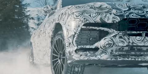 Lamborghini Urus tears up the white stuff in new teaser