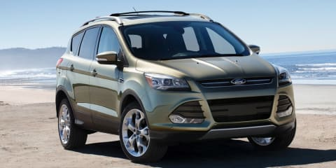 2013 Ford Escape revealed at 2011 Los Angeles motor show