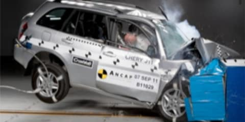 Chery J11 scores two-star ANCAP safety rating: Least safe new SUV in Australia