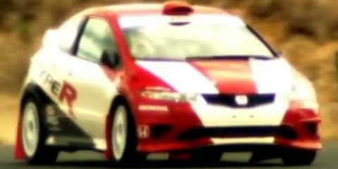 Honda Civic Type R JAS Motorsport prepares for 2010 ARC - video