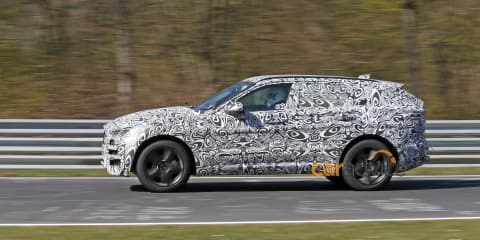 Jaguar F-Pace SUV teased in new video