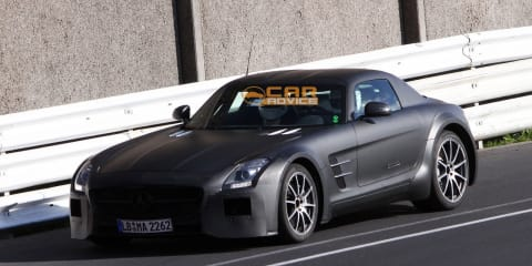 "Mercedes-Benz SLS AMG Black Series to be ""GT3 for the road"""
