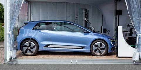 Volkswagen Gen.E concept works with recharging robots