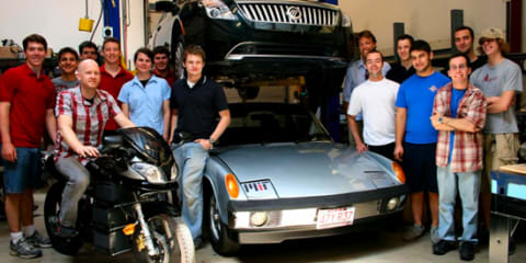 MIT students build EV that recharges in 10 minutes