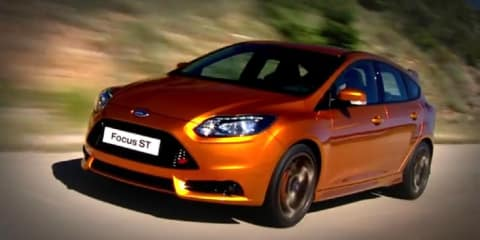 Video: 2012 Ford Focus ST revealed on road