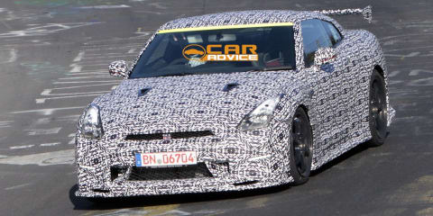 Nissan GT-R Nismo: 'ultimate GT-R' spied at the Nurburgring