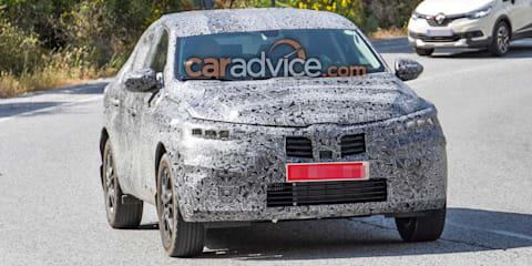 2019 Renault Captur Coupe spied
