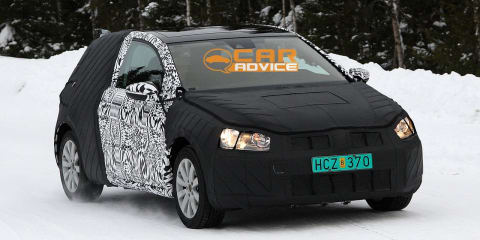 Volkswagen Golf three-door spied