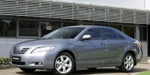 Toyota Camry best-selling Australian-made car
