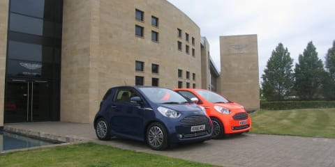 Aston Martin Cygnet looking for its first Podium finish