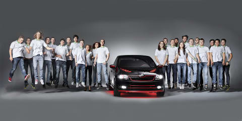 Skoda Atero:: apprentices unveil 'dream coupe' project