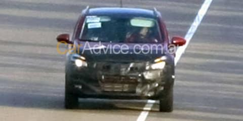 2010 Nissan Dualis spy photos
