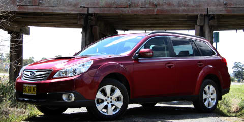 Subaru Australia recalls MY10 Outback and Liberty models