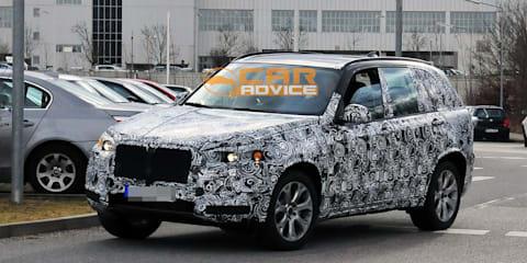 2013 BMW X5 spied